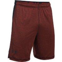 Under Armour Mens Raid Printed 8 Inch Shorts - Red - S - Red