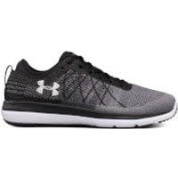 Under Armour Mens Threadborne Fortis Running Shoes - Black/Grey - US 11/UK 10 - Black/Grey