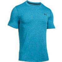 Under Armour Mens Threadborne Fitted T-Shirt - Blue - L - Blue
