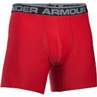 Under Armour Mens Original Series 6 Inch Boxerjock - Red - XL - Red