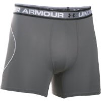 Under Armour Men's Iso-Chill Mesh 6 Inch Boxerjock - Dark Grey - S - Grey