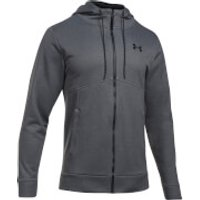Under Armour Mens Full Zip Hoody - Dark Grey - XL - Grey