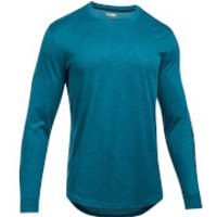 Under Armour Mens Sportstyle Graphic Long Sleeve Top - Green - S - Green