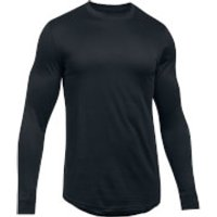 Under Armour Mens Sportstyle Graphic Long Sleeve Top - Black - S - Black