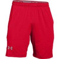 Under Armour Mens Raid International Training Shorts - Red - S - Red