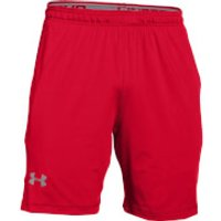 Under Armour Mens Raid International Training Shorts - Red - M - Red