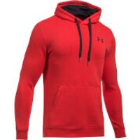 Under Armour Mens Rival Fitted Hoody - Red - L - Red