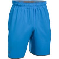Under Armour Mens Qualifier Woven Shorts - Blue - M - Blue