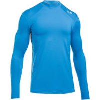 Under Armour Mens ColdGear Reactor Fitted Long Sleeve Top - Blue - L - Blue
