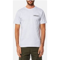 Carhartt Mens College Script T-Shirt - Ash Heather - M - Grey