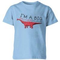 I'm A Big Brothersaurus Kids Light Blue T-Shirt - 11-12 Years - Light Blue