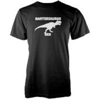 Bantersaurus Rex Black T-Shirt - L - Black