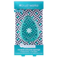 brushworks HD Silicone Miracle Sponge Tear Drop Applicator - Teal