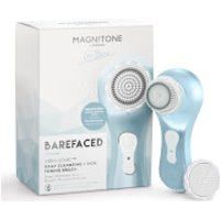 Magnitone BareFaced Vibra-Sonic™ Daily Cleansing Brush with Stimulator Brush Head Limited Edition – Serenity Blue