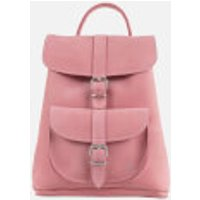 Grafea Womens Anna Small Nubuck Backpack - Dusty Rose