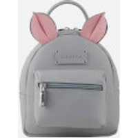 Grafea Womens Mini Zippy Mouse Backpack - Grey