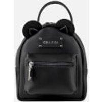 Grafea Womens Mini Zippy Bear Backpack - Black