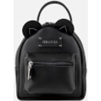 Grafea Women's Mini Zippy Bear Backpack - Black