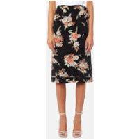 MINKPINK Womens Wallflower Wrap Skirt - Multi - XS - Multi