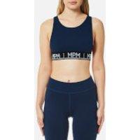 MINKPINK Move Womens Tangerine Crop Top - Navy - XS - Blue