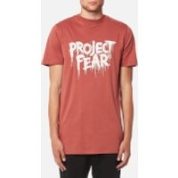 Matthew Miller Men's Discord Project Fear T-Shirt - Rust - XL - Red