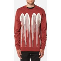 Matthew Miller Men's Disorder M M Sweatshirt - Rust - L - Red