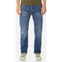 Edwin Mens ED-55 Regular Tapered Jeans - Average Repair Wash - W34/L34 - Blue