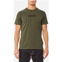 Edwin Mens Edwin Japan T-Shirt - Olive Drab - S - Green