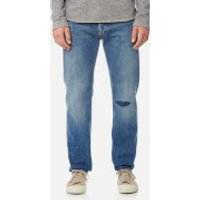 Edwin Mens ED-80 Slim Tapered Rainbow Selvedge Jeans - Meadow Wash - W32/L32 - Blue