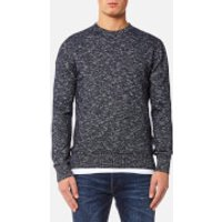 Edwin Mens Standard Sweater - Navy Flamme - L - Navy