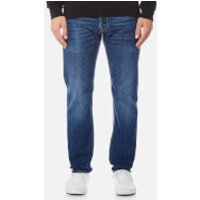Edwin Mens ED-55 Regular Tapered Rainbow Selvedge Jeans - Kiyoshi Wash - W30/L34 - Blue