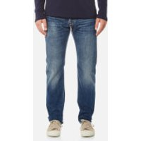 Edwin Mens ED-55 Regular Tapered Red Listed Selvedge Jeans - Retro Wash - W36/L32 - Blue