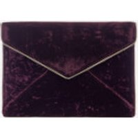 rebecca-minkoff-women-leo-velvet-clutch-bag-dark-cherry