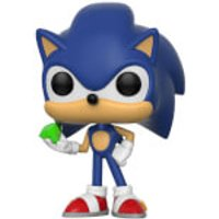Sonic the Hedgehog Sonic with Emerald Pop! Vinyl Figure - Sonic Gifts