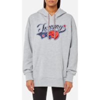 Tommy Hilfiger Womens Taika Panther Hoody - Grey - XS - Grey