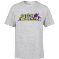 Valiant Comics Classic Archer and Armstrong Logo T-Shirt - Grey - L - Grey