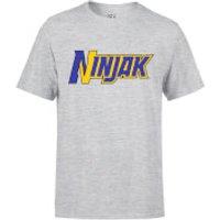 Valiant Comics Classic Ninjak Logo T-Shirt - Grey - L - Grey