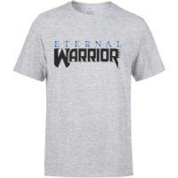Valiant Comics Classic Eternal Warrior Logo T-Shirt - S - Grey