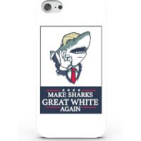 Make Sharks Great White Again Phone Case for iPhone & Android - iPhone 6 Plus
