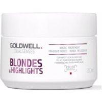 Goldwell Dualsenses Blonde and Highlights Anti-Yellow 60Sec Treatment 200ml