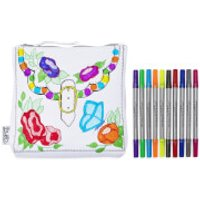 Doodle Designer Accessory Bag with 10 Wash Out Pens - Designer Gifts