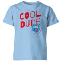 Cool Dude Kid's Blue T-Shirt - 9-10 Years - Blue