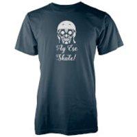 Ay Ese Skate! Navy T-Shirt - S - Navy