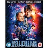 Valerian and the City of A Thousand Planets 3D (Includes 2D Version)