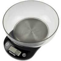 Salter Precision Electronic Kitchen Bowl Scale - Black - 3kg