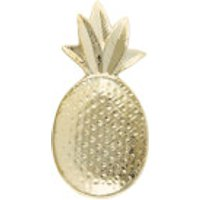 Sass & Belle Gold Pineapple Shaped Trinket Dish - Pineapple Gifts