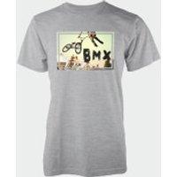 BMX Whip Grey T-Shirt - XXL - Grey - Bmx Gifts