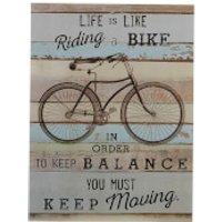 Bike Wall Plaque - Bike Gifts