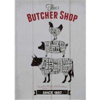 Butcher Shop Wall Plaque