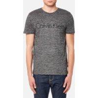 Calvin Klein Men's Jalo 4 Embroidered T-Shirt - Asphalt Heather - XL - Grey